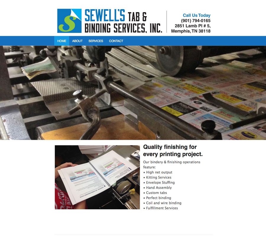 sewells_website
